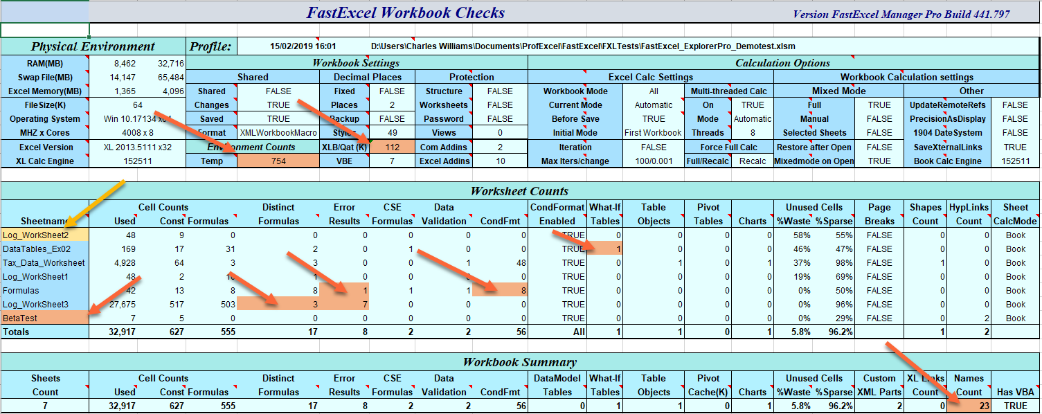 FastExcel Manager Pro